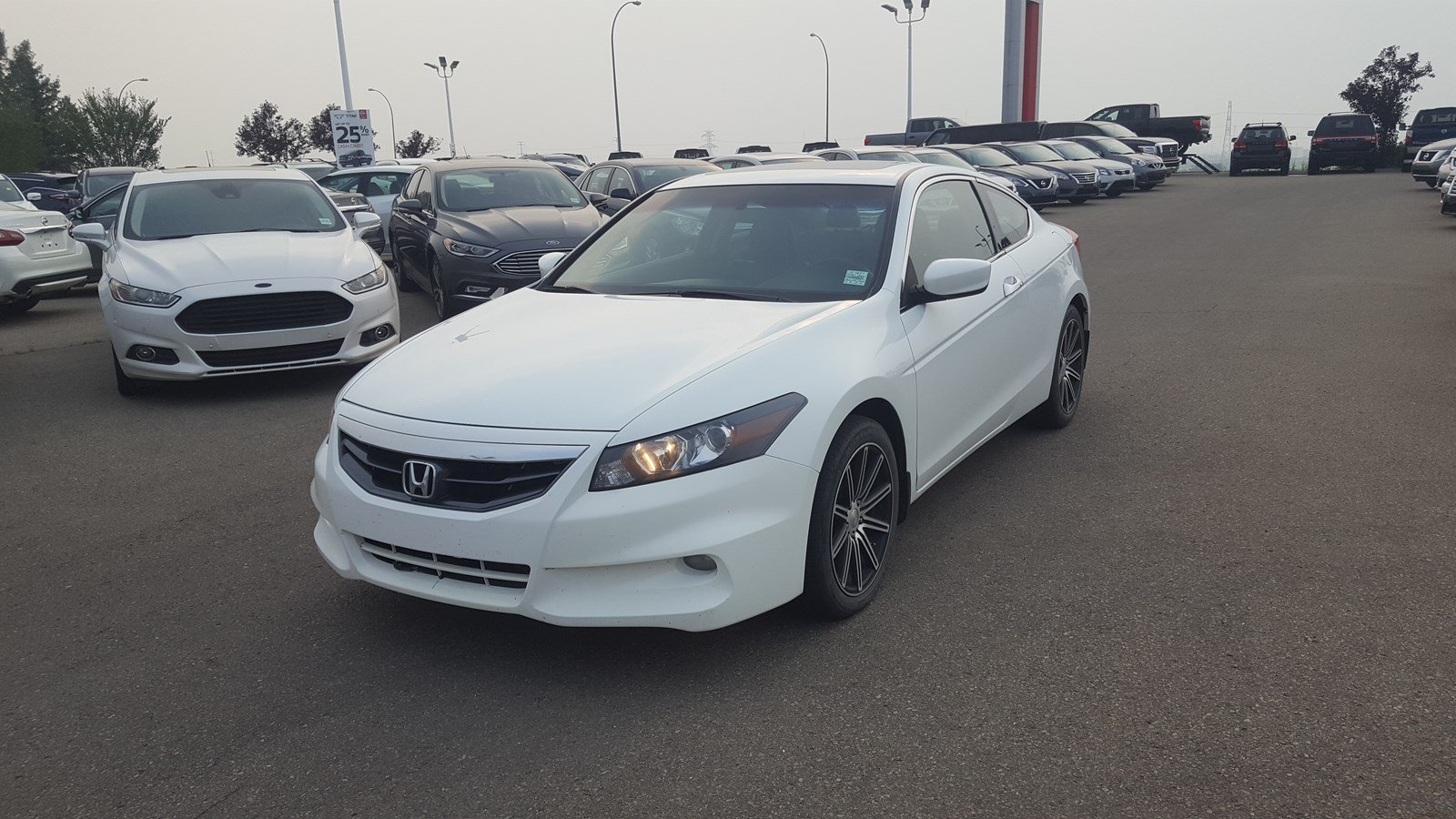 Pre Owned 2012 Honda Accord Cpe EX L Navigation (GPS), Leather
