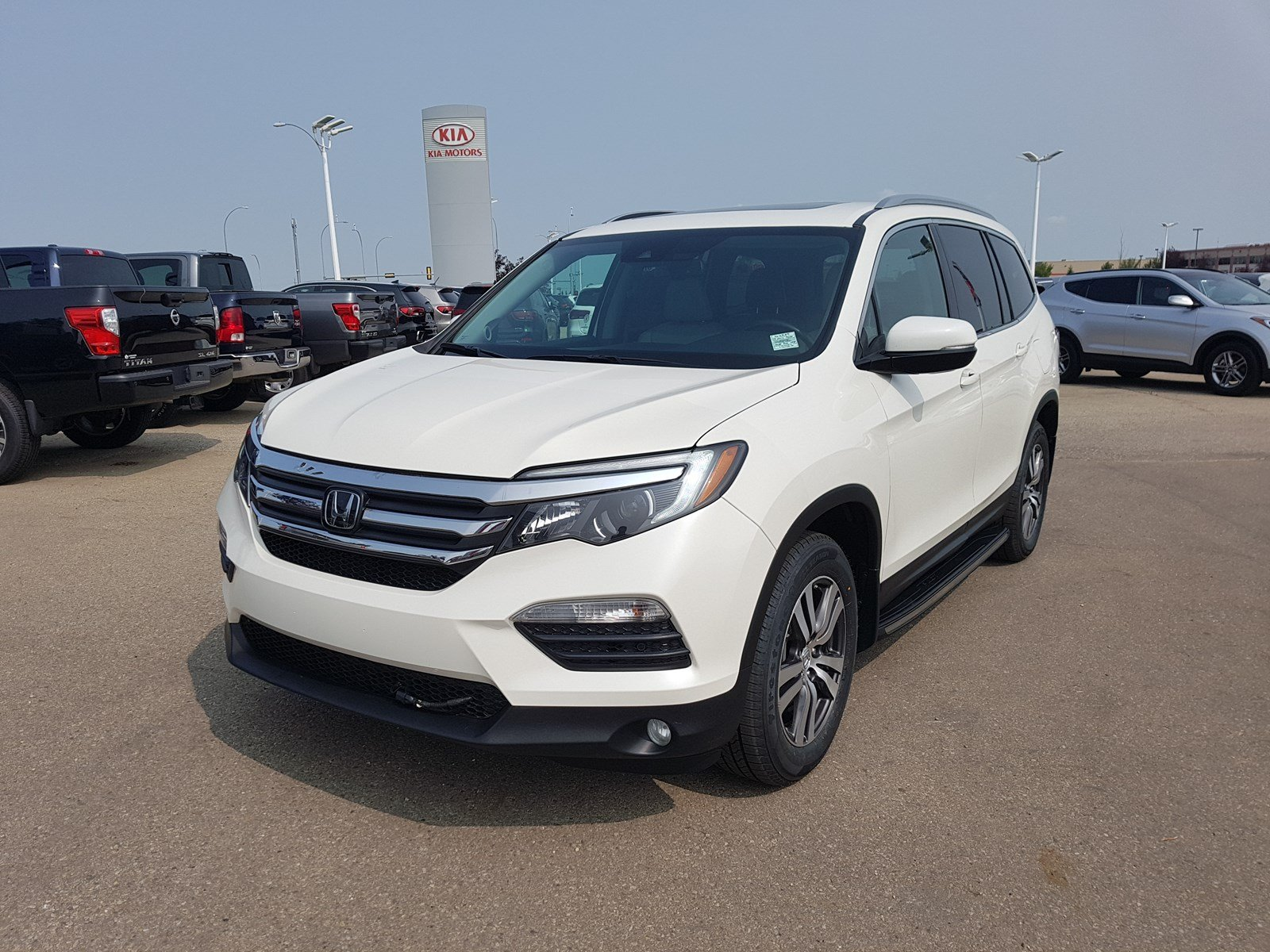 Pre Owned 2016 Honda Pilot AWD EX L Navigation (GPS), Leather